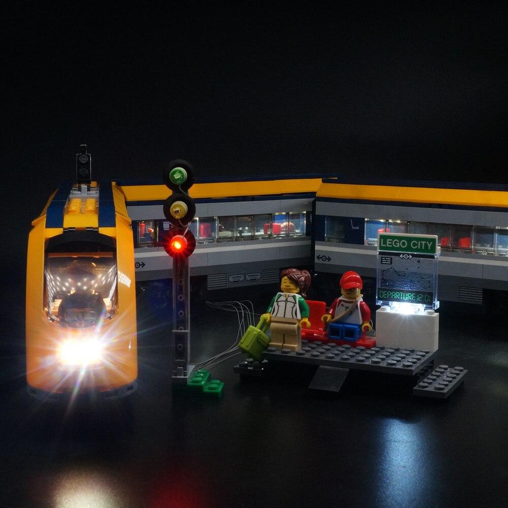LED Light Up Kit For 60197 City Series Passenger Train  (Model NOT Included)