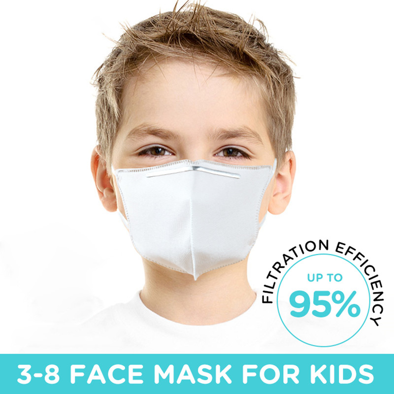 10PCS/Lot Adults Kids KN95 Face Mouth Mask 95% Filtration Anti Dust N95 Mask Functions As FFP2 KF94 Fast Shipping Masks