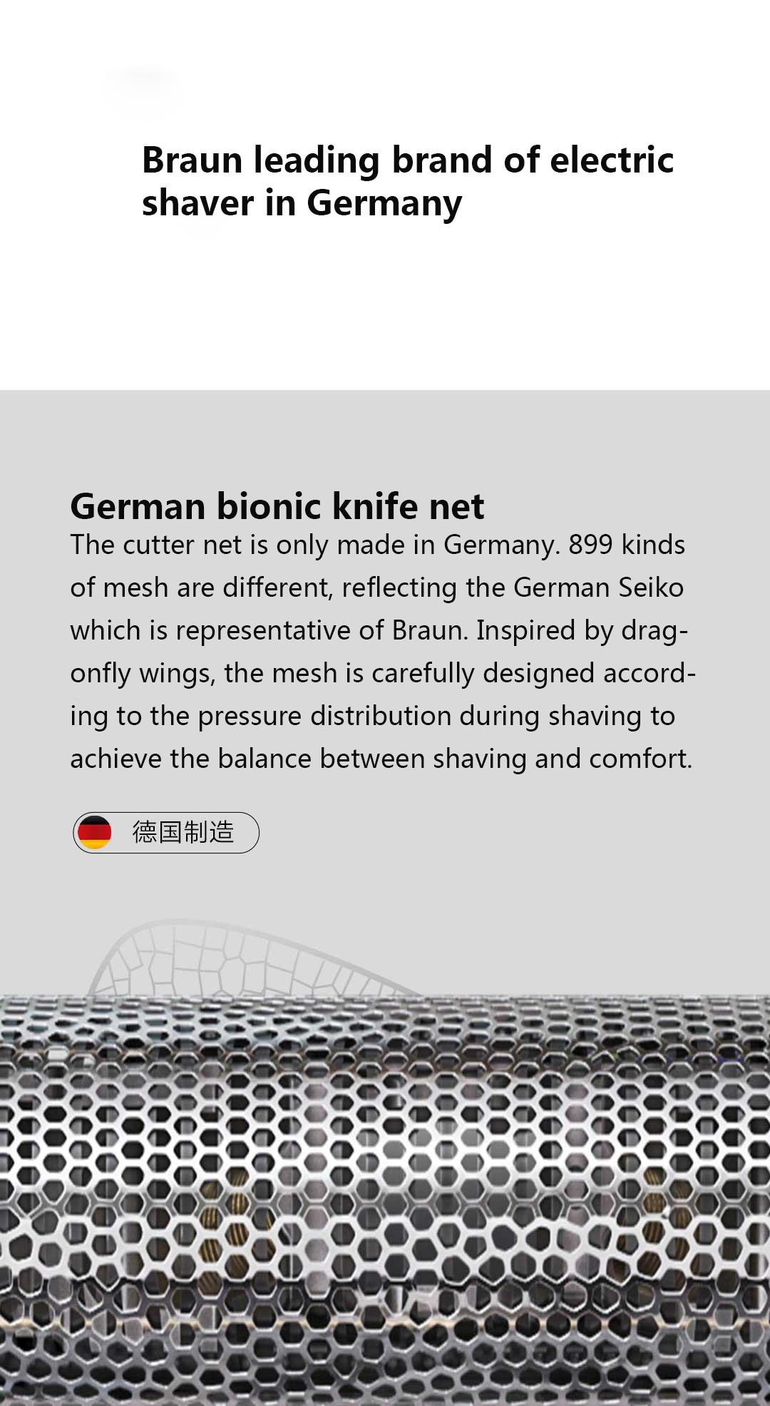 dwaterproof água 7200 rpm grande potência saída alemão faca biônica
