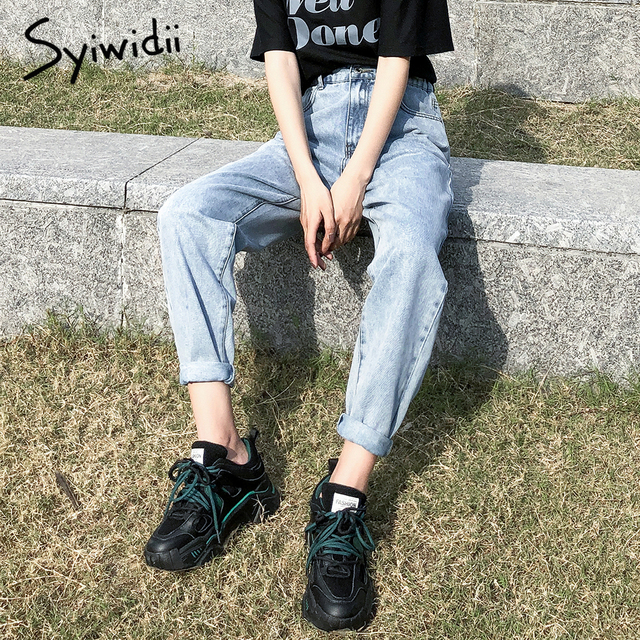 high waist jeans woman plus  4