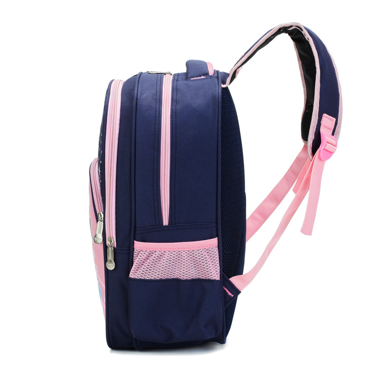 Schoolbag For Elementary School Students Cute Girl Backpack 6-12 A Year Of Age Children Ultra-Light Burden Relieving Sweet Backp
