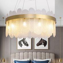 Nordique cristal verre lustre créatif design Art Restaurant cuisine suspendus lampes décor Luminaire chambre luminaires