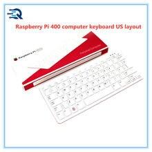 RPI400-US raspberry pi 400 teclado computar, bcm2711, quad-core, 64bit, braço, Cortex-A72, com 4gb de ram, disposição dos eua