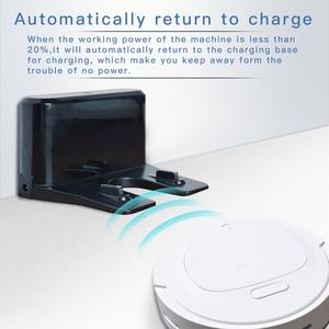 Image 5 - IKONKA V88 Robot Vacuum Cleaner Sweep&Wet Mop Simultaneously For Hard Floors&Carpet Run 150mins before Automatically Charge
