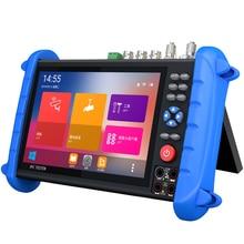 7 Inch Hd Cctv Tester Monitor Ahd Cvi Tvi Cvbs Sdi Ip H.265 4K 8MP Hdmi In Multimeter Tdr glasvezel Vfl Onvif Wifi Poe