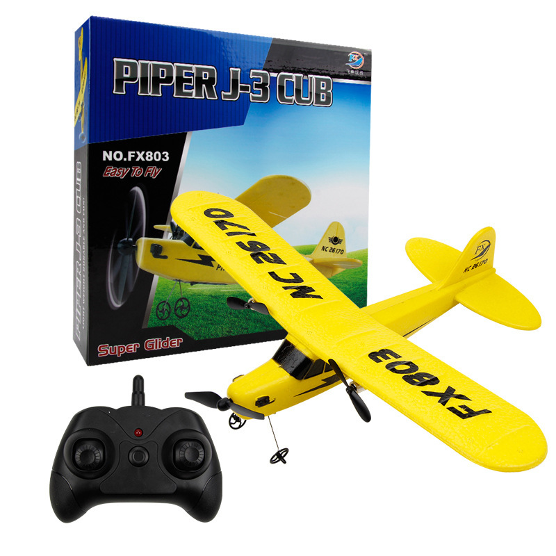 Fx-803 Glider EPP Fixed-Wing Foam Model Airplane 2.4G Children Electric Remote Control Aircraft Toy Model