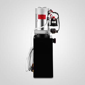 Image 3 - 6 Quart Single Acting Hydraulic ปั๊ม Dump Trailer 12V Lift Reservoir