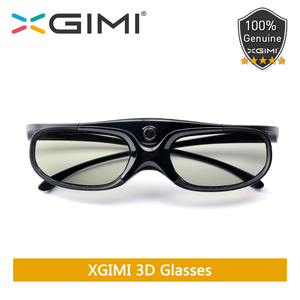 Original XGIMI Shutter 3D Glasses DLP-Link Liquid Crystal Rechargeable Virtual Reality LCD Glass for XGIMI H1/ H2/ Z6/ CC Aurora(China)