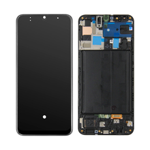 Aaa サムスンギャラクシー A50 A505 SM A505F A505DS A505F A505A lcd ディスプレイタッチスクリーンデジタイザアセンブリ + フレーム