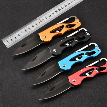 Folding Knife Tactical Survival Knives Hunting Camping Fixed Blade Knife Edc utility Outdoor Fruit Cutter messen utility Knive