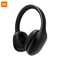 Original Xiaomi MI Bluetooth Headphone Wireless Earphones Business Running Noise Cancelling PU Headset For iphone Android 4.1