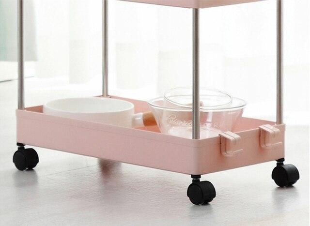 Мебель для ванной комнаты кухонная полка хранения тонкий Стеллаж