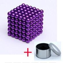 цена на 3mm neodymium Magnet Toy Puzzle Funny Sphere 216pcs/set Creative Magnets Magic NdFeB buck Ball Magic Cubes Puzzle Gift Toys