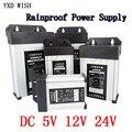 Beleuchtung Transformatoren AC zu DC 5V 12V 24 V Schalt Netzteil 5A 8A 10A 15A 20A 220V ZU 5 12 24 V Volt Outdoor Regen SMPS