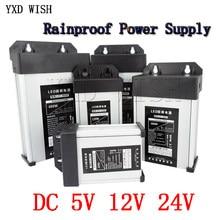 Trasformatori di illuminazione AC a DC 5V 12V 24 V alimentatore a commutazione 5A 8A 10A 15A 20A 220V a 5 12 24 V Volt SMPS antipioggia per esterni