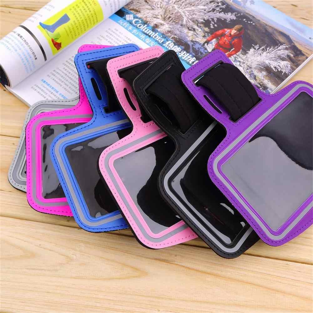 Waterdichte Running Jogging Sport Neopreen Gym Armband Case Cover Houder Met Reflecterende Strip Voor Iphone 6 Plus