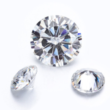 Loose Gemstones Pass-Tester Moissanite-Stone Gra Diamond Ring VVS1 for Color-Cut 100%Real