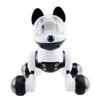 MG010 sterowanie głosem tryb wolny śpiewać taniec inteligentny pies inteligentny RC robot pies zabawka inteligentny robot zabawka dla psa elektroniczne zwierzęta dla dzieci prezent w Elektroniczne zwierzęta domowe od Zabawki i hobby na