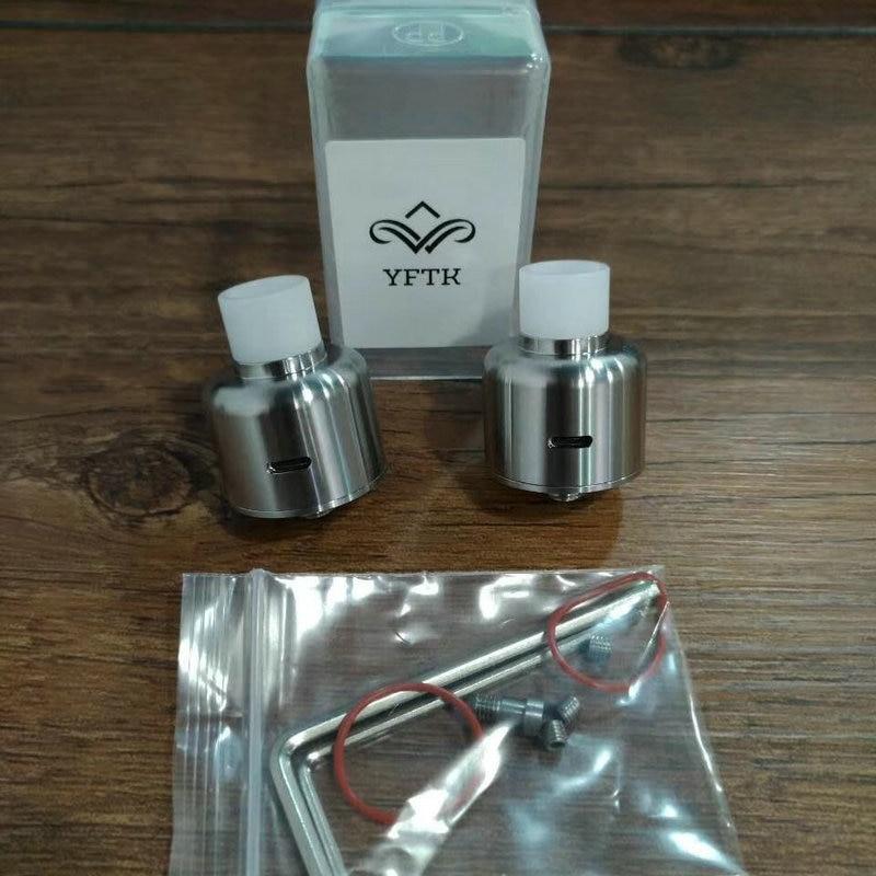 New Soul S Rda Yftk In 22mm Diameter 510 Driptip With 316 Stainless Steel Vape Atomizers
