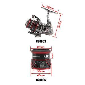 Image 2 - SHIMANO STRADIC CI4 بكرة صيد السمك بكرة الضحلة C2000S C2000HGS 2500S 2500HGS بكرة X SHIP HAGANE الجسم صيد السمك