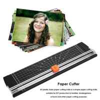 A4 Portable Paper Trimmer Precision Paper Cutter Cutting Machine Office Plastic Labels Photo Cutting Mat Machine DIY Craft