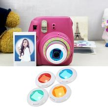 Camcorder Colored-Lens Close-Up Polaroid Instant S-Film 7-Cameras Mini for