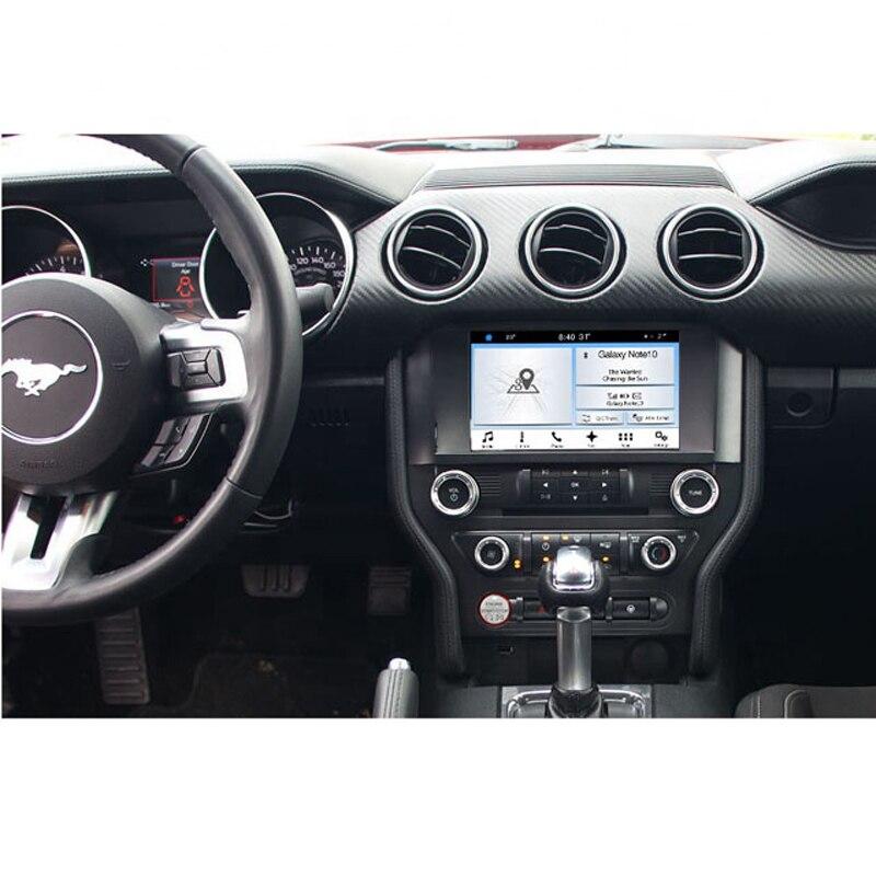"""מערכת ניווט GPS EASY AUTO רכב GPS Nav תמיכה אנדרואיד נגן MP3 8 """""""" HD מסך מולטימדיה מערכת ניווט רדיו Infotainment עבור פורד מוסטנג (3)"""