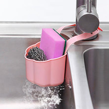 Portable Home Kitchen Sink drain basket Hanging Drain Shelf Bag Basket Bath Storage Tools Sink Holder