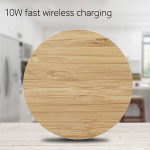 Image 5 - AZiMiYO Qi Snelle Houten Draadloze Oplader voor iPhone 11 Pro XS Max XR 8 Plus Draadloos Opladen Pad voor Samsung s10 S9 S8 S7