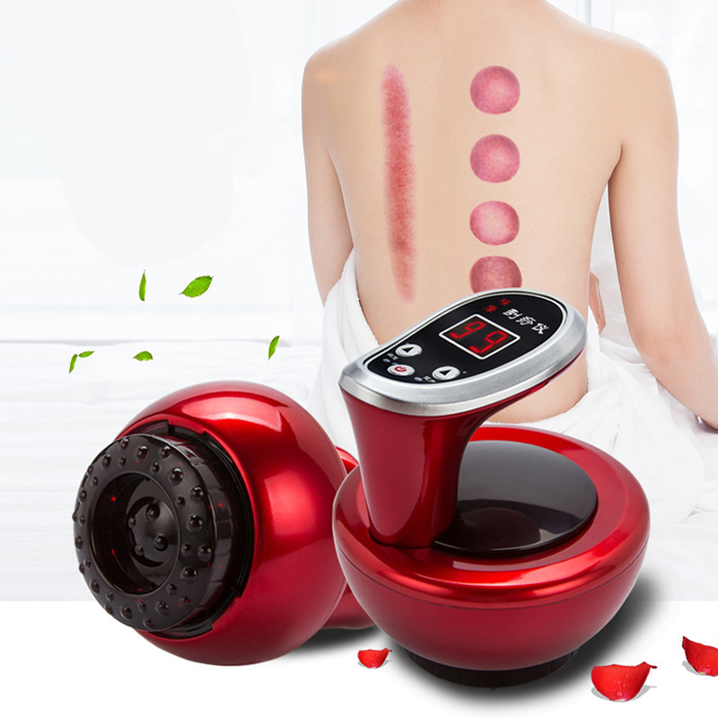 Электрический вакуумный баночный массажер присущая средствам китайской медицины гуаша терапии Ventosa присоска выскабливание Меридиан инфракрасный физиотерапии|Лечение с помощью медицинских банок| | АлиЭкспресс