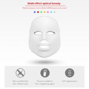 Image 3 - LED Facial Mask Therapy 7 Colors Face Mask Machine Photon Therapy Light Skin Care Wrinkle Acne Removal Face Beauty for Home use
