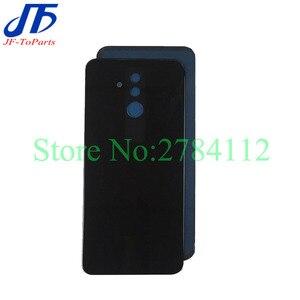 Image 2 - 10pcs Batterie Abdeckung Zurück Glas Panel Für Huawei Mate 20 Pro / mate 20 lite Hinten Tür Gehäuse Fall mit Klebstoff Ersetzen
