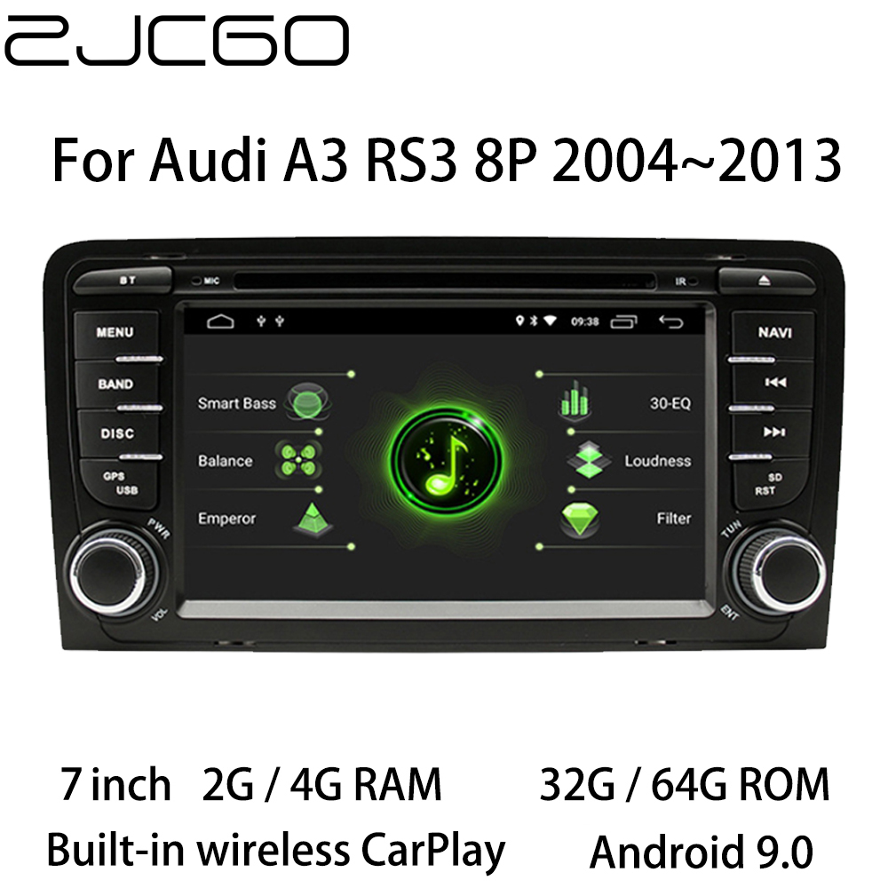 Auto Multimedia-Player Stereo GPS DVD Radio <font><b>Navigation</b></font> Android Bildschirm für <font><b>Audi</b></font> <font><b>A3</b></font> RS3 <font><b>8P</b></font> 2004 ~ 2013 image