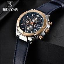 Men's watches BENYAR new quartz men wrist watch top luxury f