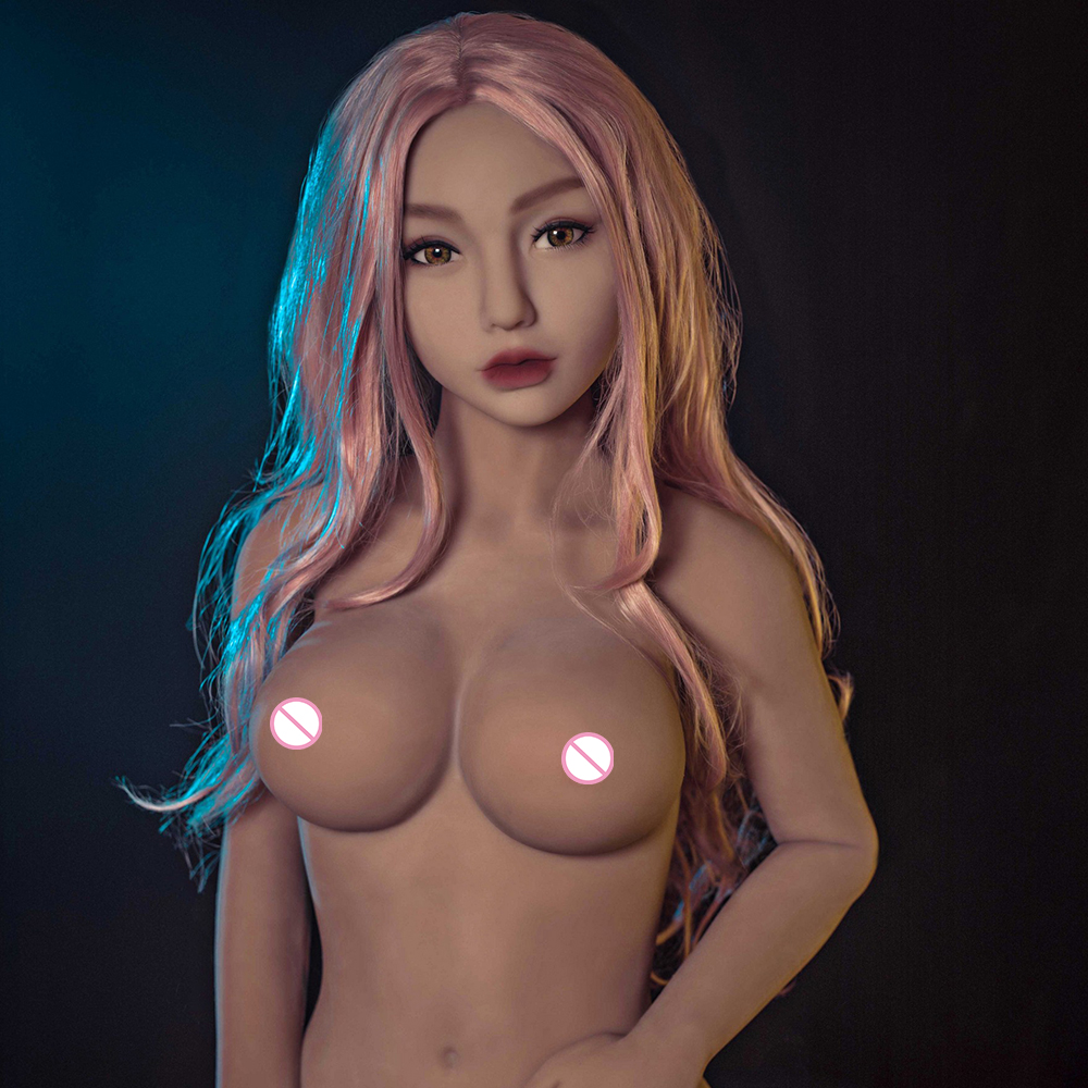 158cm 85# Real Silicone Sex Dolls with Skeleton for Men The Sexual Doll Oral Anal Vagina Big Breast Adult Sex Love Doll Big ass