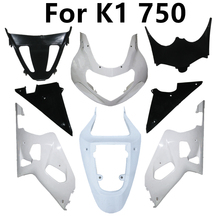 Components GSXR750 Suzuki Plastic-Parts Full-Fairing-Kits Motorcycle Injection for K1