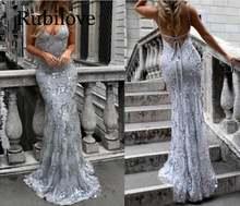 Женское платье с блестками rubilove Европейское и американское
