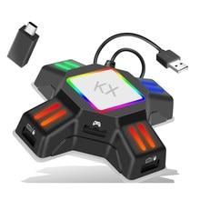 KX Adapter Für PS4 Controller ps5 Gaming Tastatur Maus Adapter Konverter für xbox serie x nintendo schalter accesorios