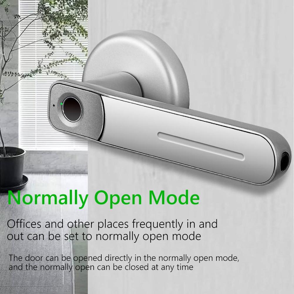 Офис с ключами электронный Спальня чувствительный Смарт биометрический USB Порты и разъёмы Квартира Безопасности Дверной замок со сканером ...