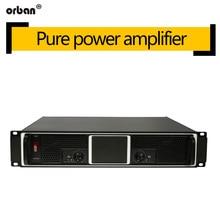 Professional power amplifier CS4080 pure post-stage ktv stage audio amplifier 600W amplifier 2U
