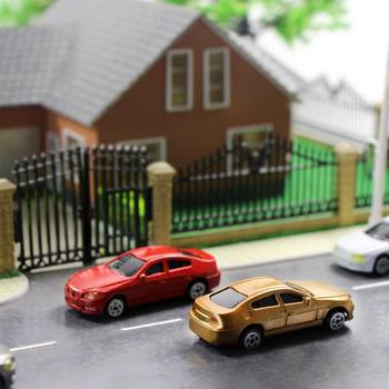 10-część HO Model Model Mini Auto 1/87 budynek krajobraz pociąg krajobraz