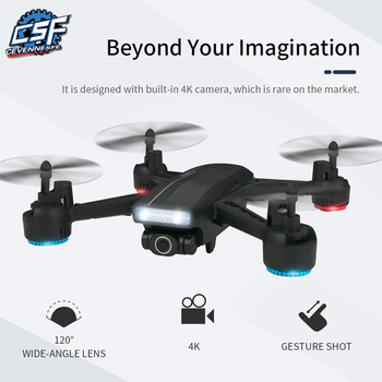 drone 2.4G 4CH 720P WIFI FPV 4K Wide Angle Cam Aerial Photography Altitude Hold Mode RC FPV Racing / Racer Drone Quadcopter frsky 2 4g accst 16ch taranis x9d plus telemetry radio transmitter open tx mode 2 for rc quadcopter helicopter fpv racing drone