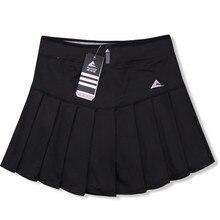 Женская юбка-шорты, быстросохнущая Спортивная юбка-штаны для бадминтона, плиссированные штаны с карманами, юбка для тенниса, одежда для черлидеров