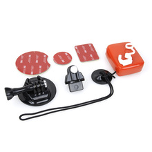 Surfboard Fix Mount Surfing Accessories Set for GoPro Hero 7 6 5 4 3 2 Session Xiaomi Yi 4K 2 SJCAM SJ4000 h9 Go Pro Buckle Kits for go pro accessories mouth mount set surf braces connector surfing forgopro hero 6 5 4 3 3 2 1 for xiaomi for xiaoyi