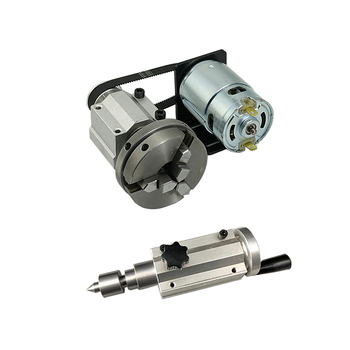 775 DC motor Chuck 65mm Tailstock for DIY CNC Router Engraver Milling Machine cnc tailstock with chuck for rotary axis cnc milling machine tailstock center height 65mm