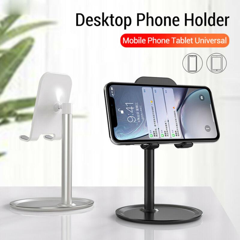 Настольный держатель для телефона универсальная настольная подставка для планшета для iPad iPhone Samsung Huawei Xiaomi смартфон подставка для телефона
