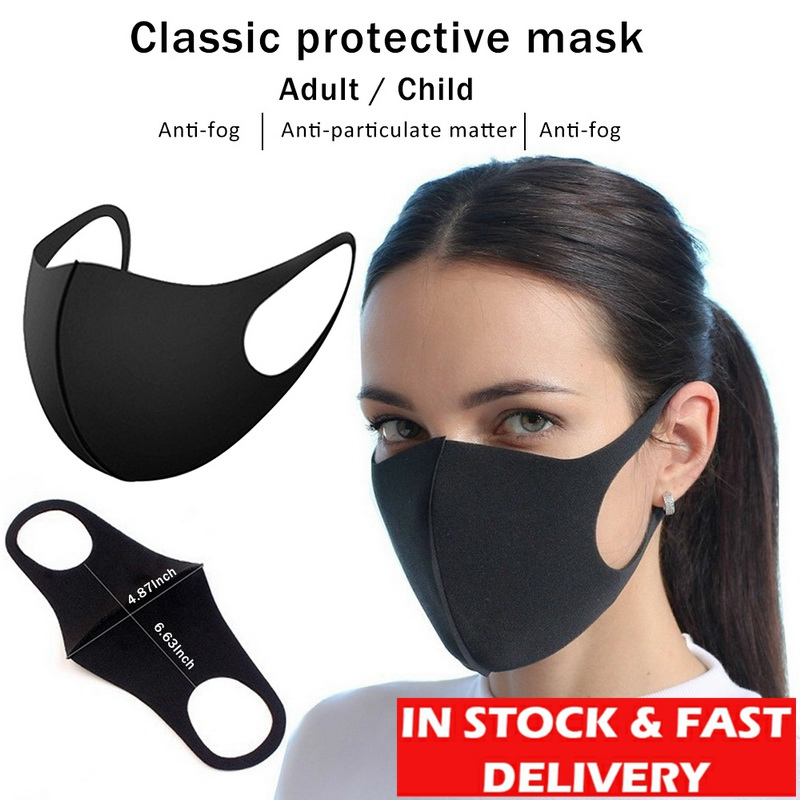 Antiviral Cotton Mouth Mask Anti Haze Dust Washable Reusable Women Men Child Dustproof Mouth-muffle Mask Face Mouth Masks