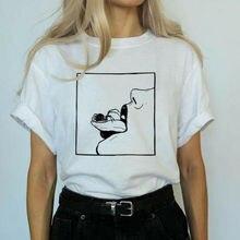 Новая летняя футболка унисекс с принтом, женская и мужская футболка с рисунком, повседневная спортивная хлопковая футболка, S-2XL