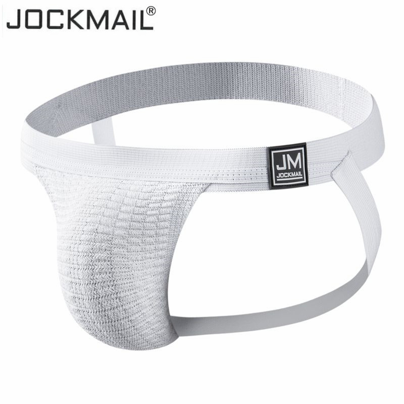 JOCKMAIL Tight End Jockstrap Men Underwear Sexy Men's Athletic Supporter Jockstrap Homme Shorts Strap Jock Gay Underwear String