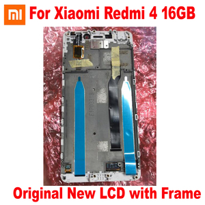 Image 3 - Orijinal yeni en iyi Xiaomi Redmi 4 16GB / 4 Pro başbakan 32GB LCD ekran 10 nokta dokunmatik ekran digitizer meclisi sensörü ile çerçeve